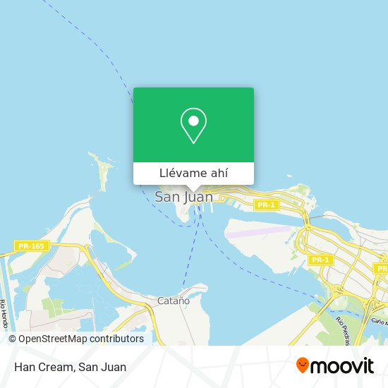 Mapa de Han Cream