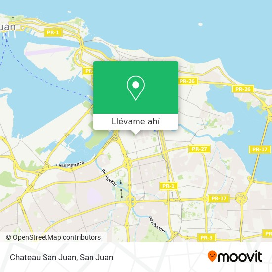 Mapa de Chateau San Juan
