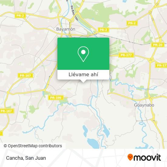 Mapa de Cancha