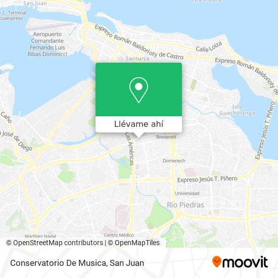 Mapa de Conservatorio De Musica