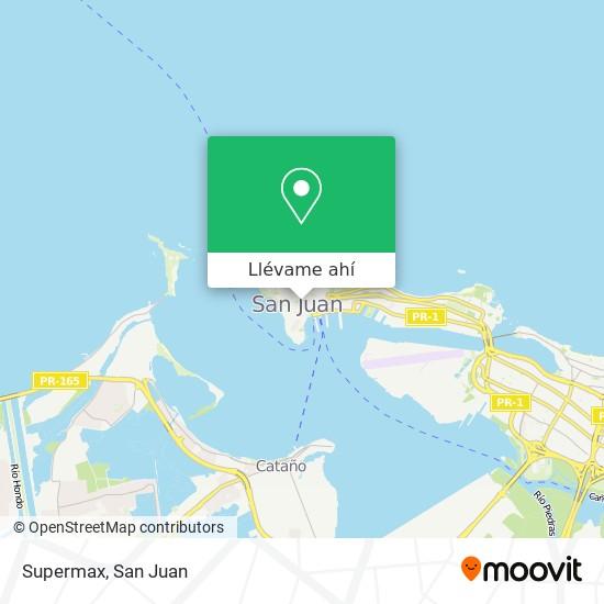 Mapa de Supermax