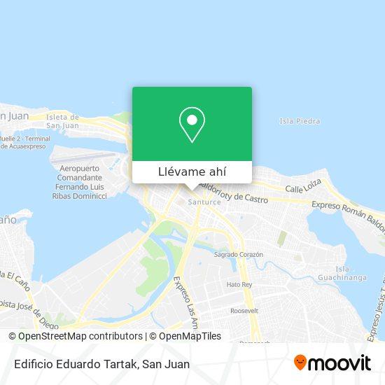 Mapa de Edificio Eduardo Tartak