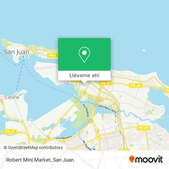 Mapa de Robert Mini Market