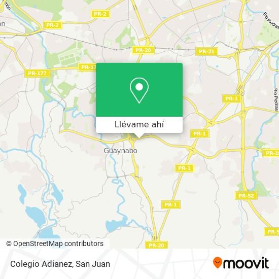Mapa de Colegio Adianez