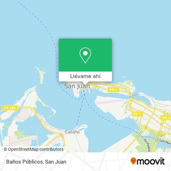 Mapa de Baños Públicos