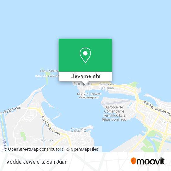 Mapa de Vodda Jewelers