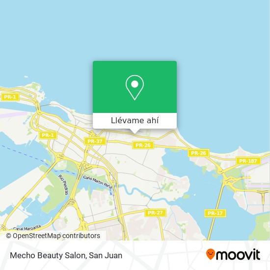 Mapa de Mecho Beauty Salon