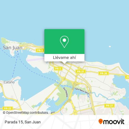 Mapa de Parada 15