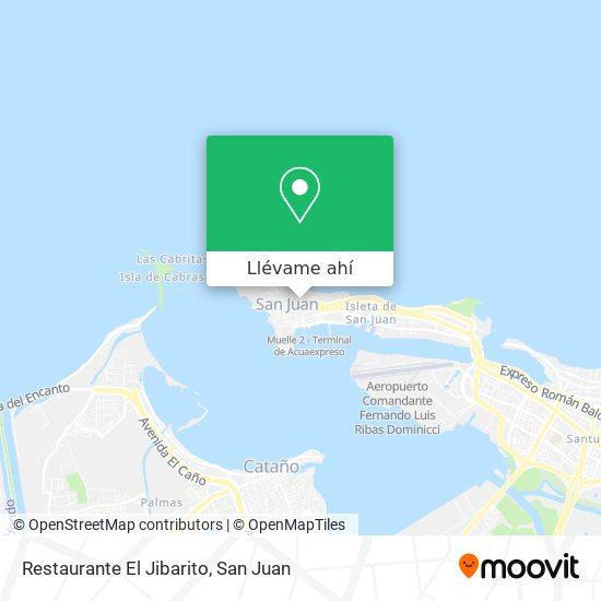 Mapa de Restaurante El Jibarito