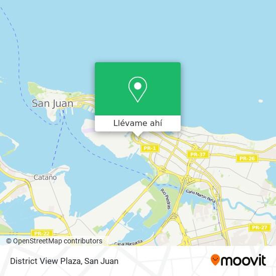 Mapa de District View Office Center