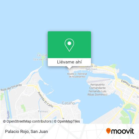 Mapa de Palacio Rojo