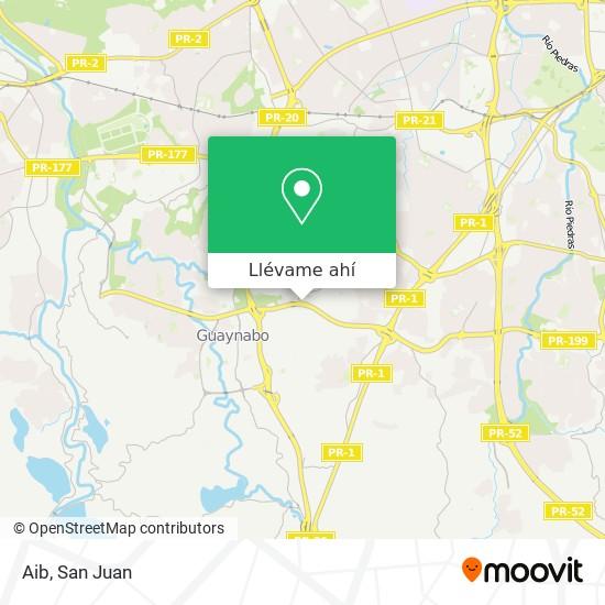 Mapa de Aib