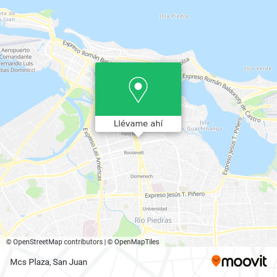 Mapa de Mcs Plaza