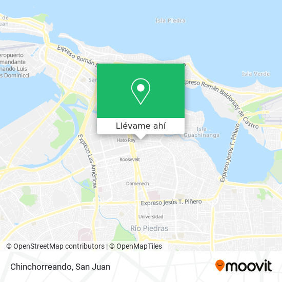 Mapa de Chinchorreando