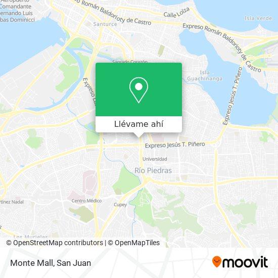 Mapa de Monte Mall