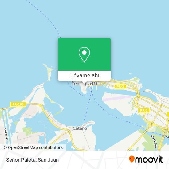 Mapa de Señor Paleta