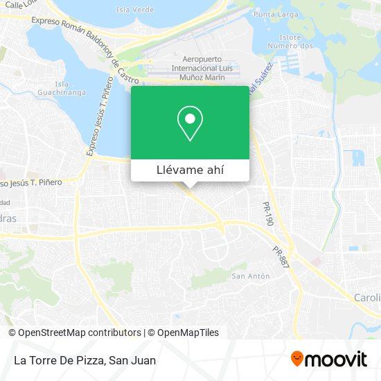 Mapa de La Torre De Pizza