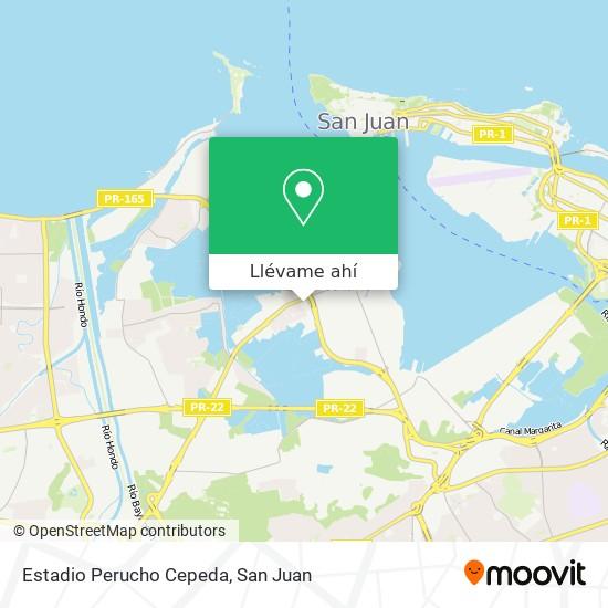 Mapa de Estadio Perucho Cepeda