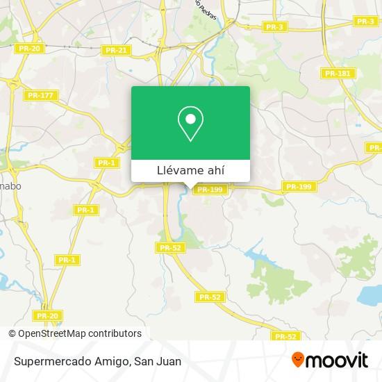 Mapa de Supermercado Amigo