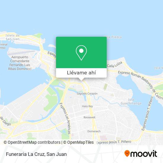 Mapa de Funeraria La Cruz