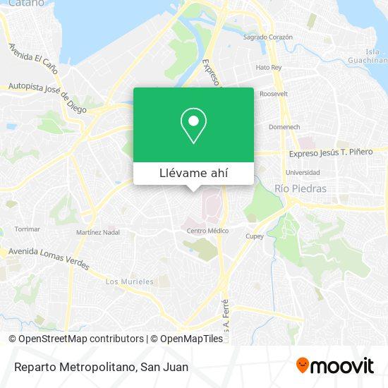 Mapa de Reparto Metropolitano