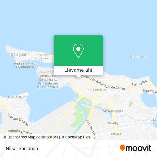 Mapa de Nilsa