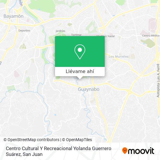 Mapa de Centro Cultural Y Recreacional Yolanda Guerrero