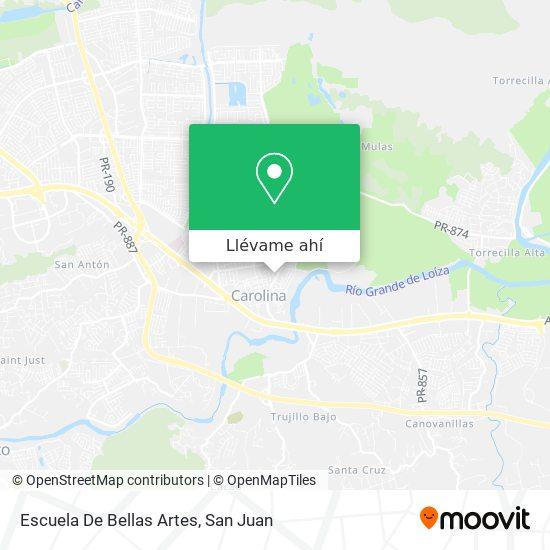 Mapa de Escuela De Bellas Artes