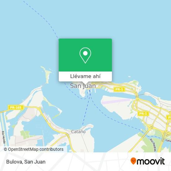 Mapa de Bulova
