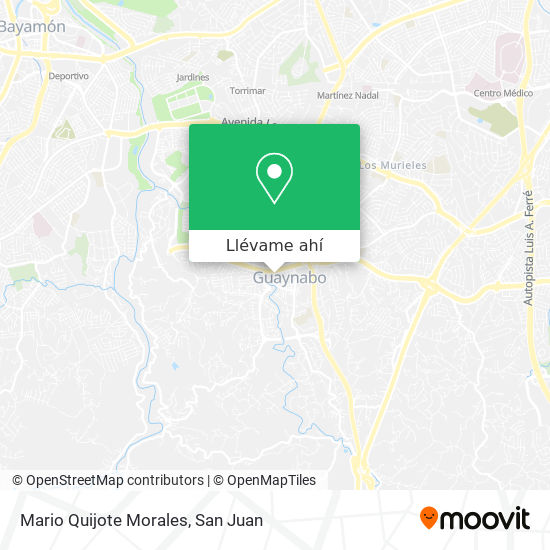 Mapa de Mario Quijote Morales