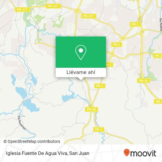 Mapa de Iglesia Fuente De Agua Viva