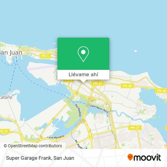 Mapa de Super Garage Frank