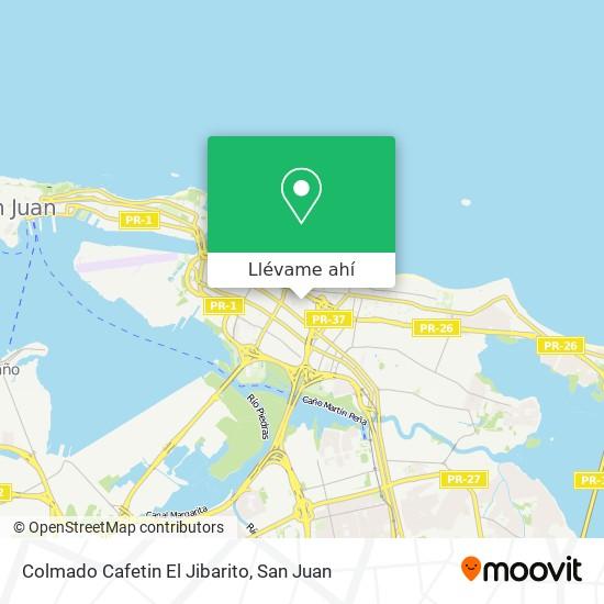 Mapa de Colmado Cafetin El Jibarito