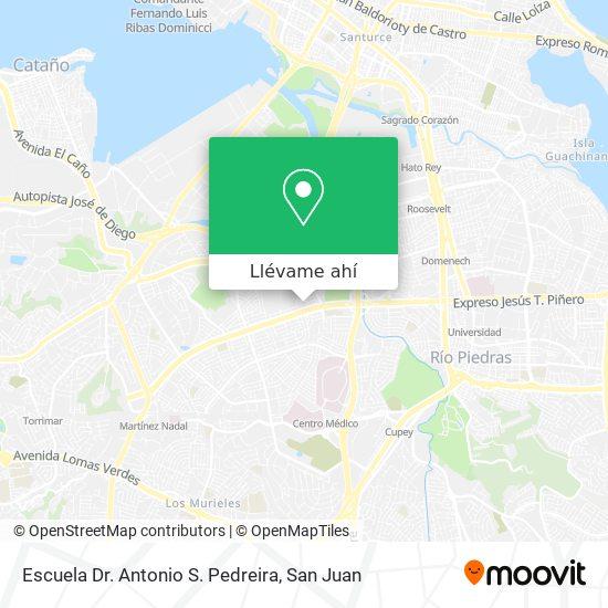 Mapa de Escuela Doctor Pedreira