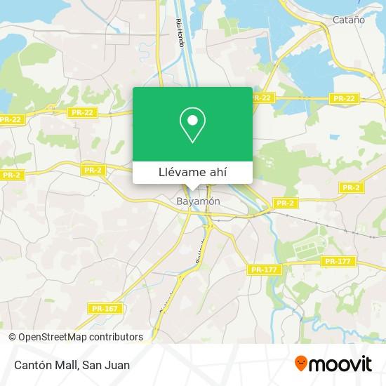 Mapa de Cantón Mall