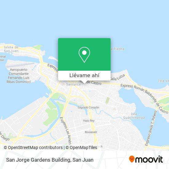 Mapa de San Jorge Gardens Building