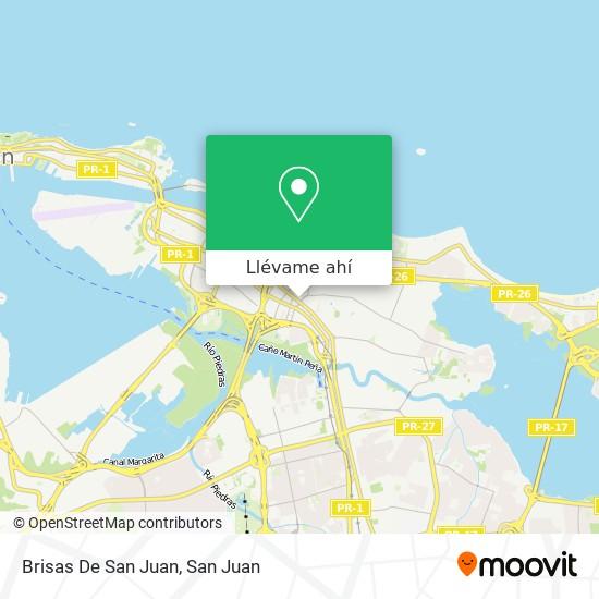 Mapa de Brisas De San Juan