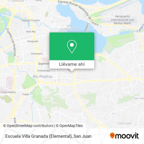 Mapa de Escuela Villa Granada Elemental