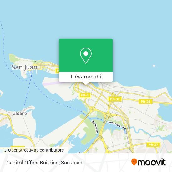 Mapa de Capitol Office Building