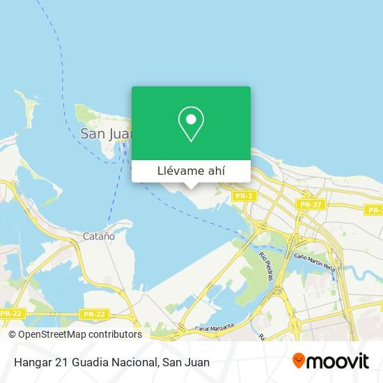 Mapa de Hangar 21 Guadia Nacional
