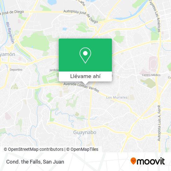 Mapa de Cond. The Falls