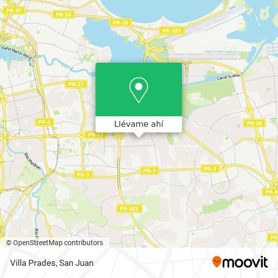 Mapa de Villa Prades