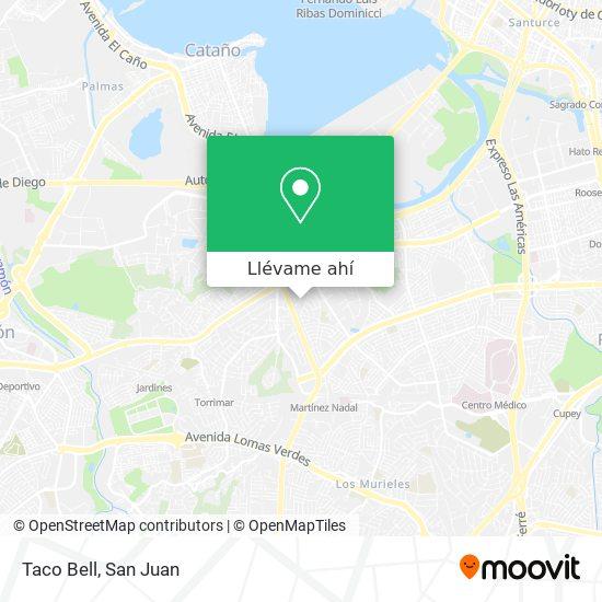 Mapa de Taco Bell