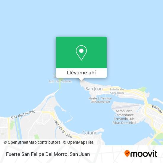 Mapa de Fuerte San Felipe Del Morro