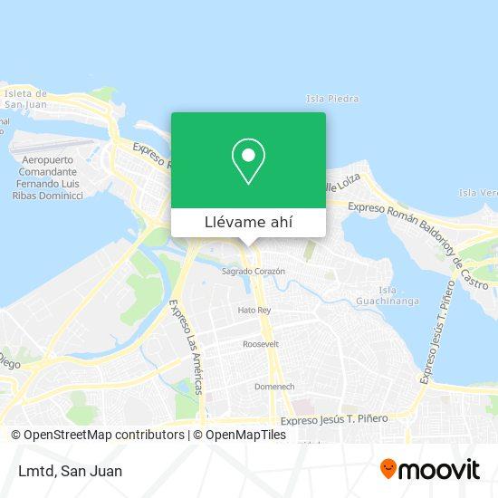 Mapa de Lmtd
