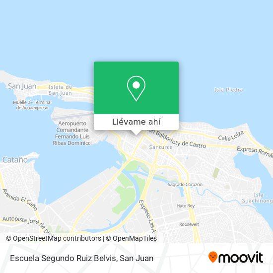 Mapa de Escuela Segundo Ruiz Belvis