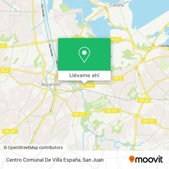 Mapa de Villa España