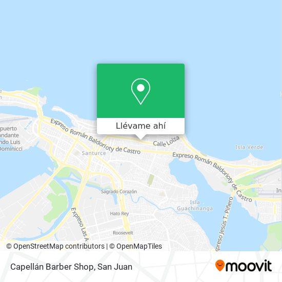 Mapa de Capellán Barber Shop