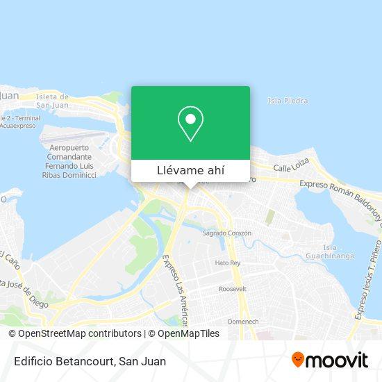Mapa de Edificio Betancourt