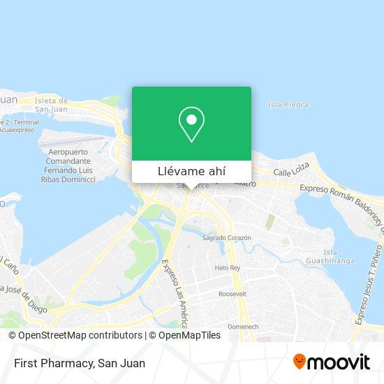 Mapa de First Pharmacy